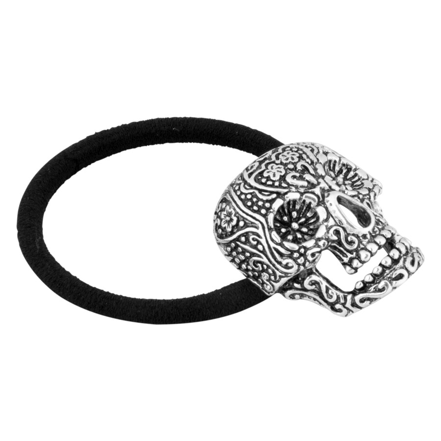 Tattooed Skull Hair Tie