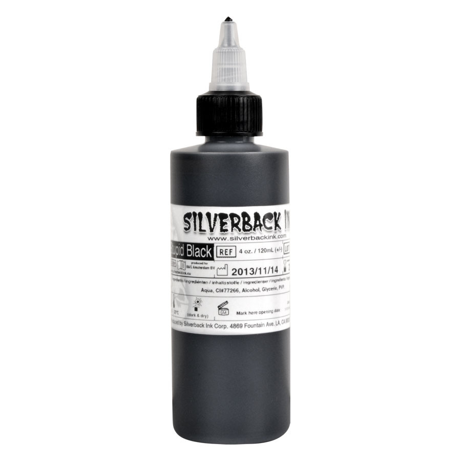 Silverback Ink Stupid Black