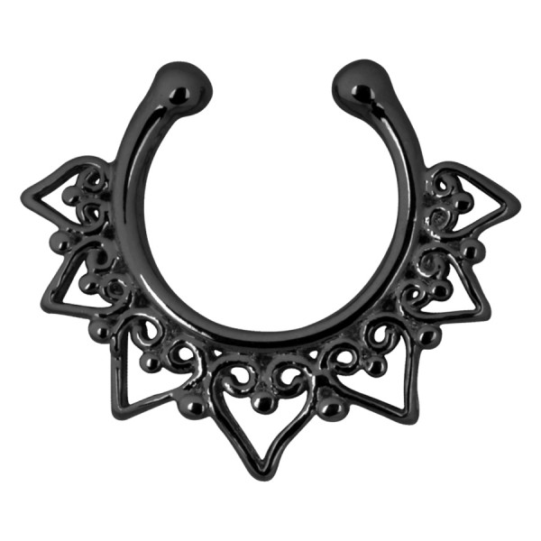 Peak Fake Septum Black