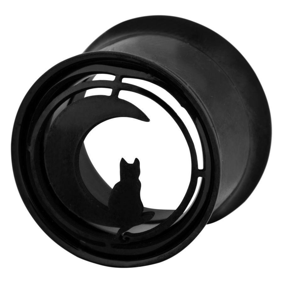 Black Moonlight Cat