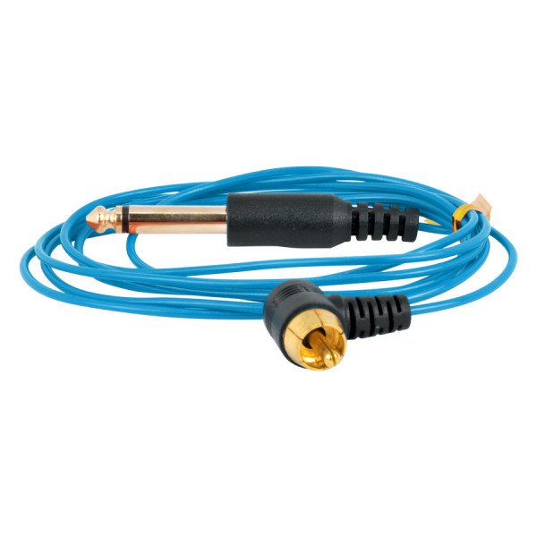 Ultra Thin RCA Cord Blue