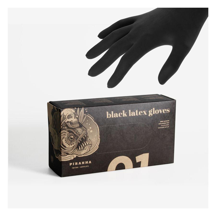 Piranha Gloves Latex 100pcs