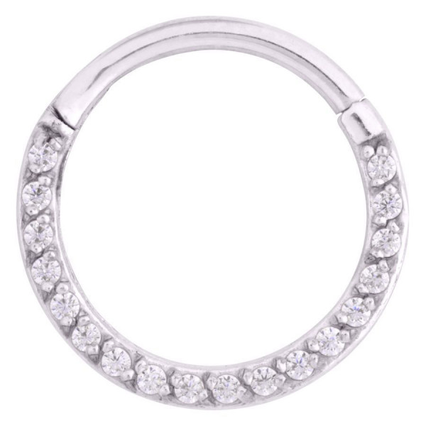 Pave Set Septum Clicker