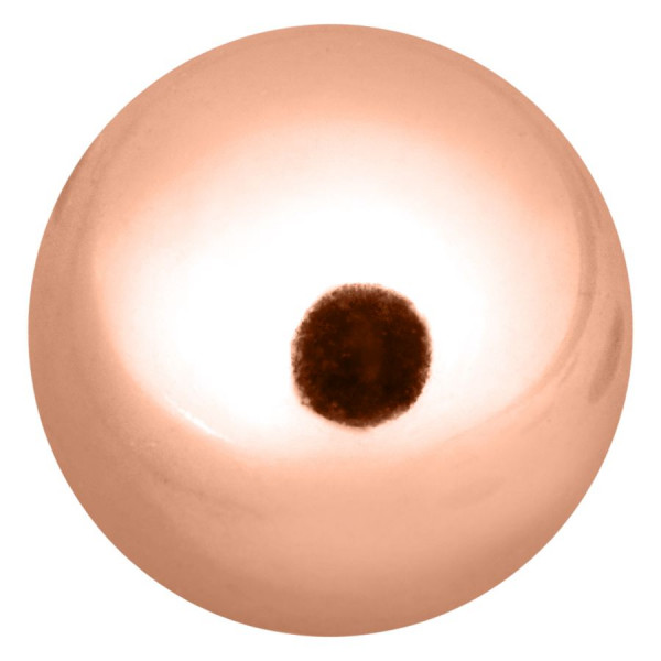 Rosegold Threaded Ball