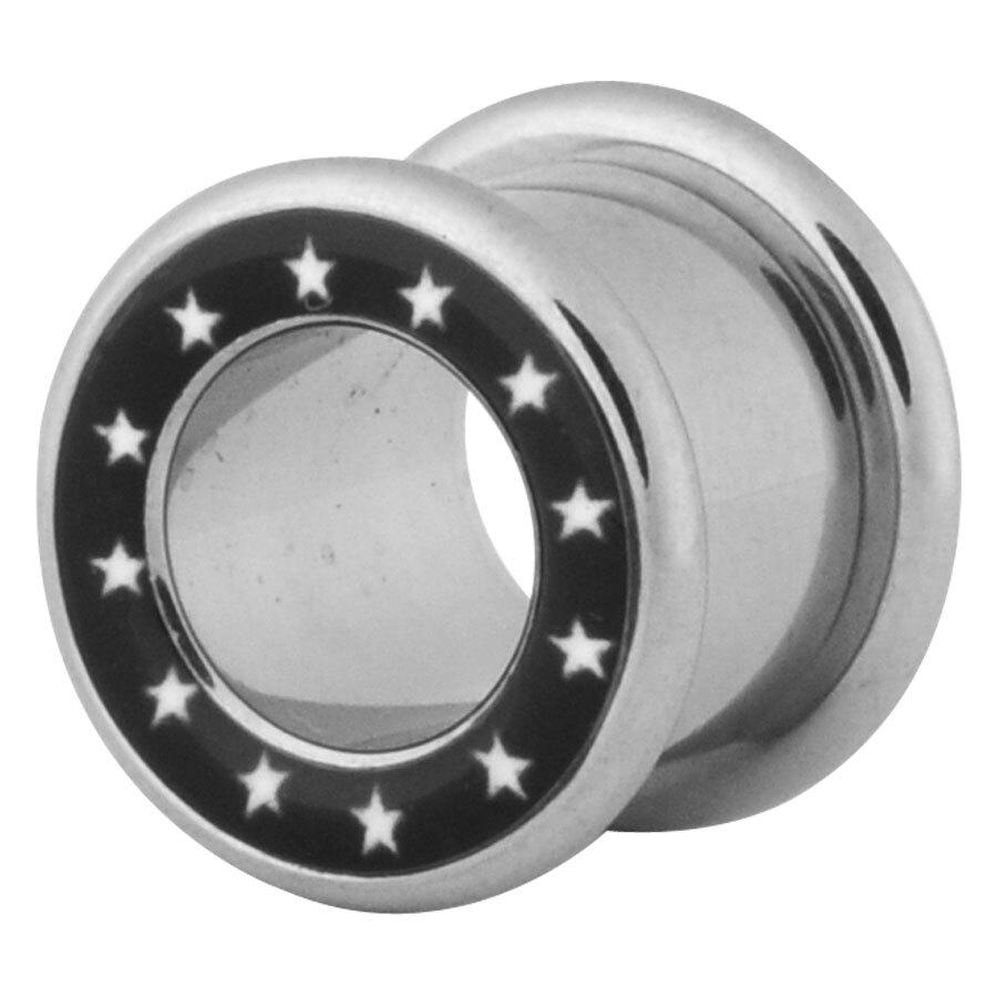 Steel Basicline® Tunnel White Stars