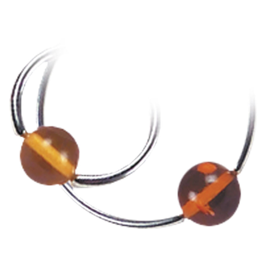 Amber Clip-In Ball