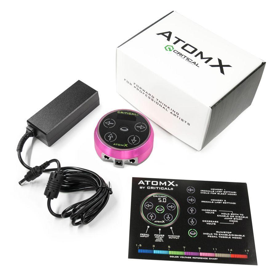 Critical Atomx Power Supply Pink