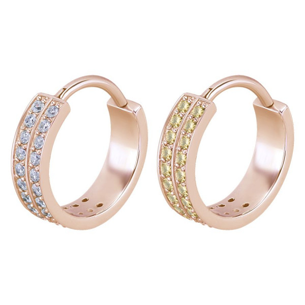 Double Jewelled Hinged Ring