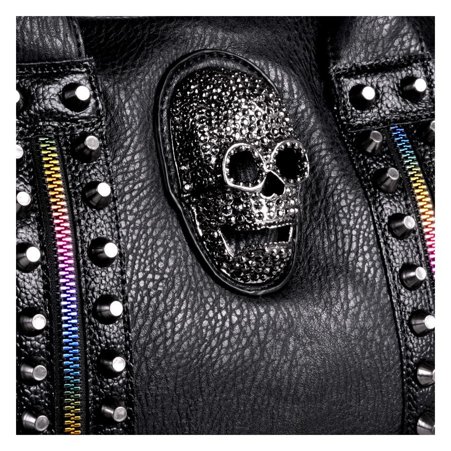 Skull Rainbow Shoppingbag