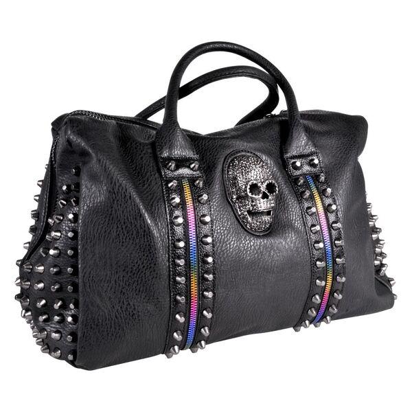Skull Rainbow Shoppingbag