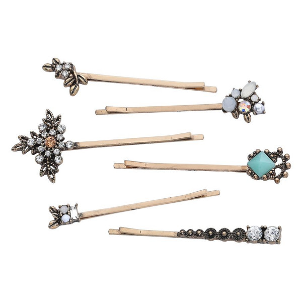 Flower Hair Bobby Pins