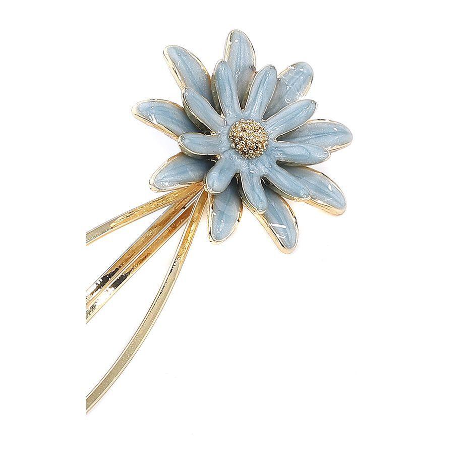 Blue Flower Hairclip