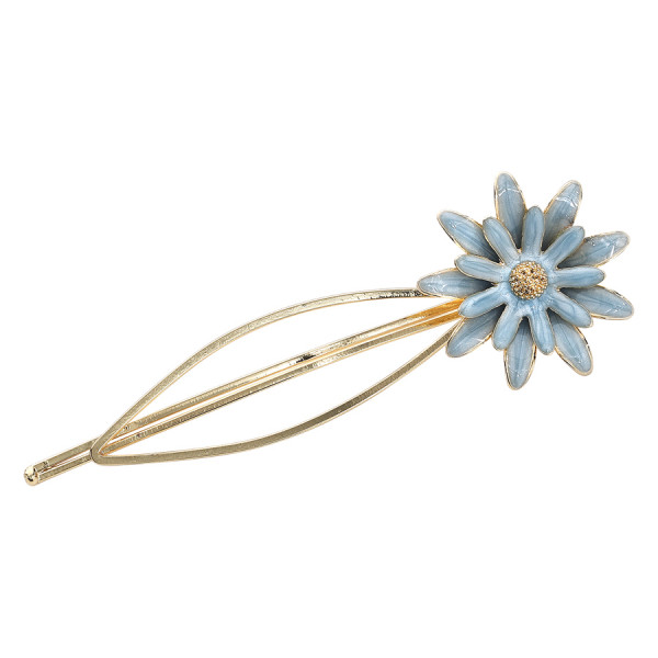Blue Flower Hairclip