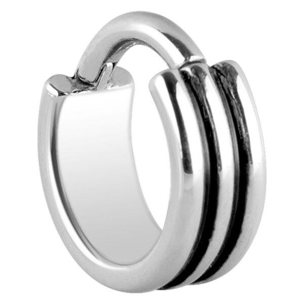 Steel Basicline - Triple Hinged Septum Clicker