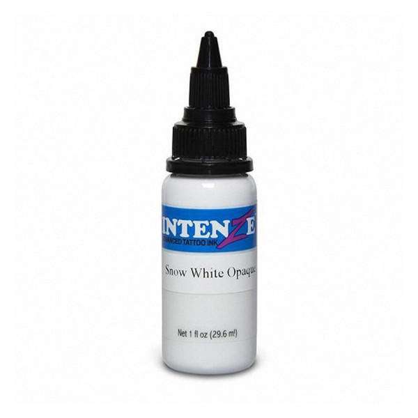 Intenze Ink Snow White Opaque