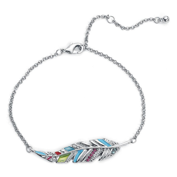 Colourful Feather Bracelet