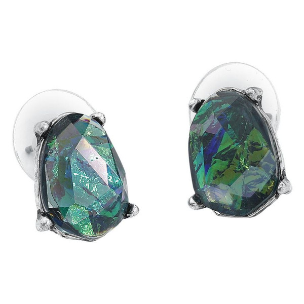 Crystal Opalite Earstuds