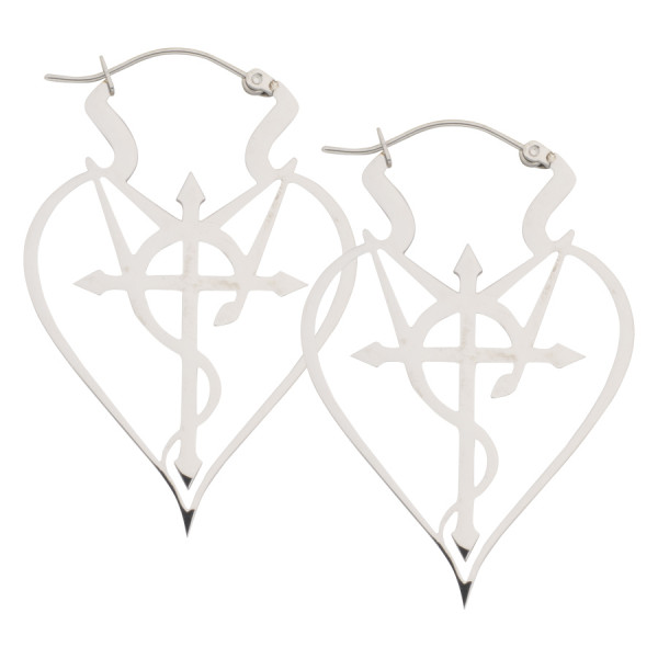 Crux Serpentine Hoops
