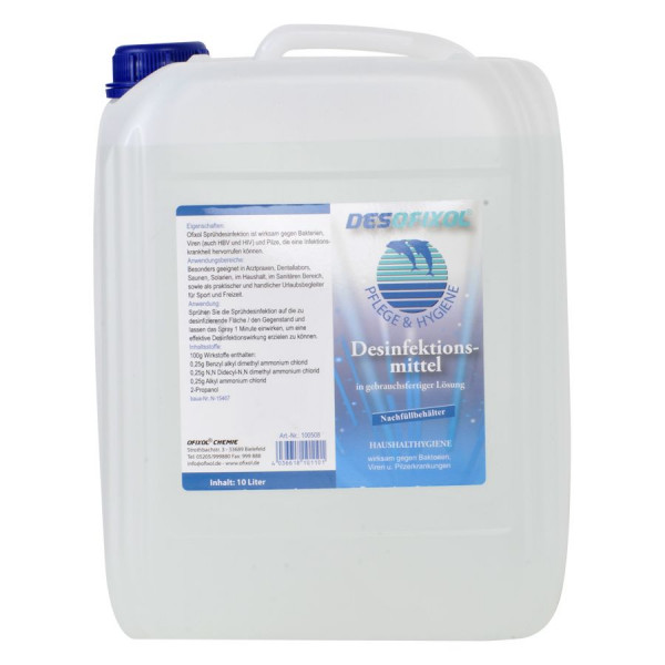 Desinfektion Desofixol 10L