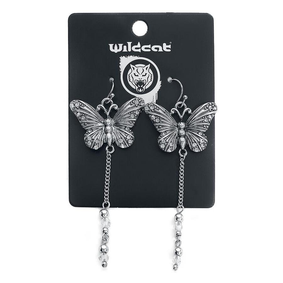 Dangling Butterfly Earstuds