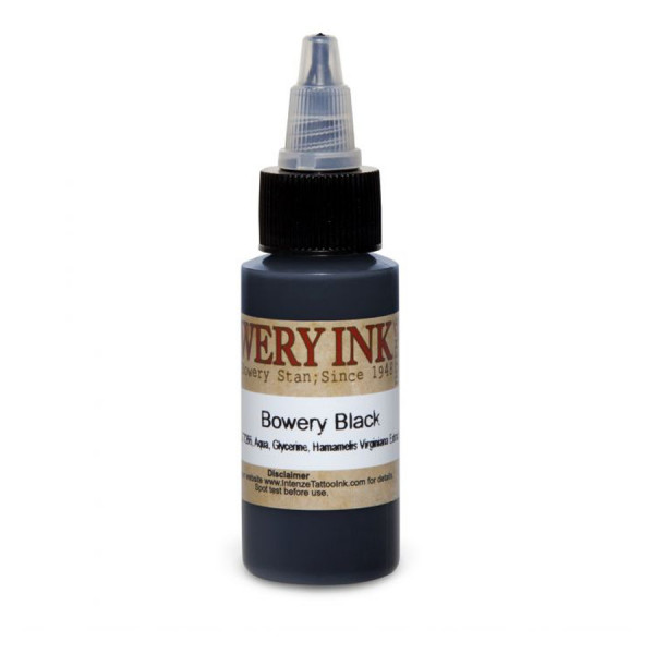 Intenze Ink Bowery Black by Bowery Stan 30 ml