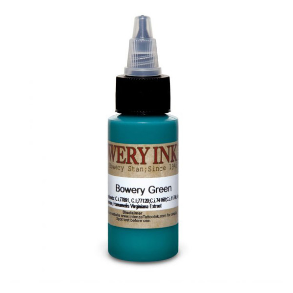 Intenze Ink Bowery Green by Bowery Stan 30 ml