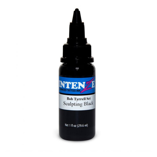 Intenze Ink Sculpting Black of the Bob Tyrrell Collection 30 ml