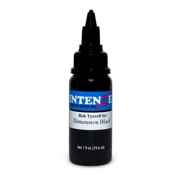 Intenze Ink Dimension Black of the Bob Tyrrell Collection 30 ml