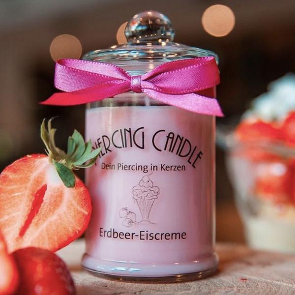 Strawberry Icecream Candle