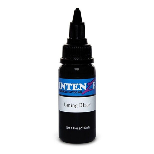 Intenze Ink Lining Black 30 ml