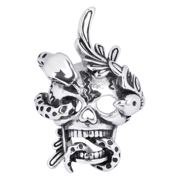 Skull & Snake without Chain