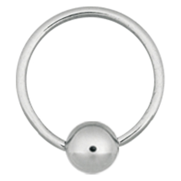 Steel Basicline® Implantation Ball Closure Ring