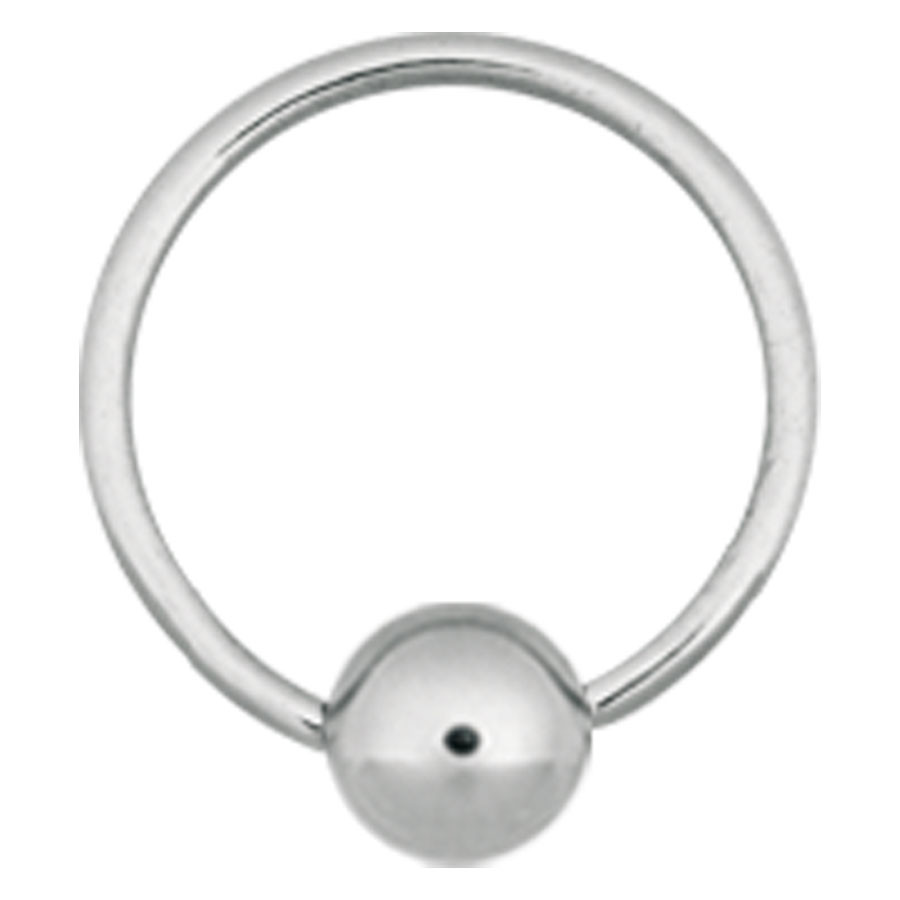 Steel Basicline® Implantation Ball Closure Ring