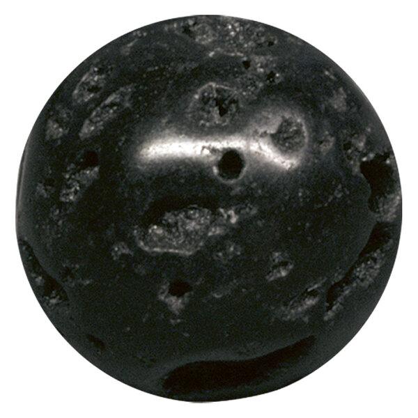 Black Lava Beads