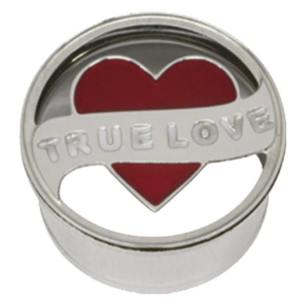 Steel Basicline® Impression Eyelet True Love