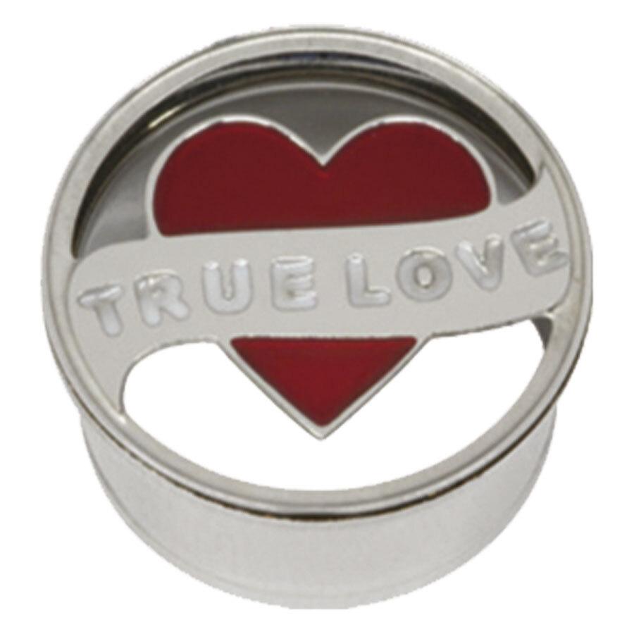 Steel Basicline® Impression Eyelet True Love