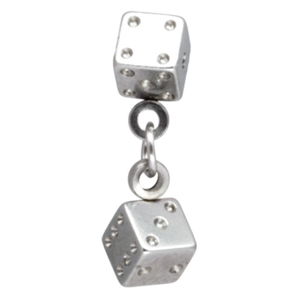 Steel Basicline® Clip-in Dice & Chain