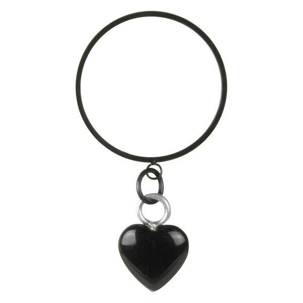 Steel Blackline® - X-Change Onyx Heart