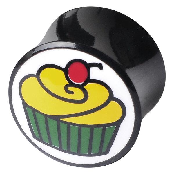 "Buffalo Horn Plug ""Cupcake"""