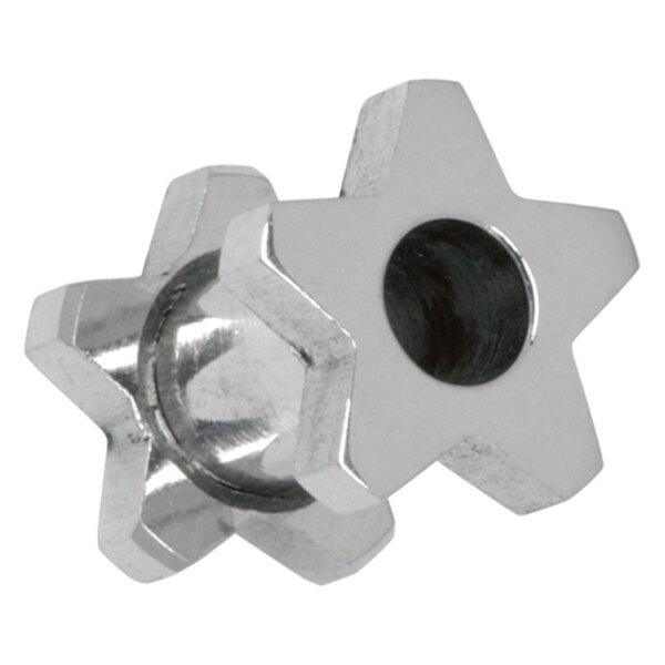 Steel Basicline® Star Flesh Tunnel