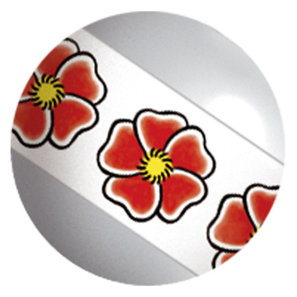 Image Stripy Titanball Flower