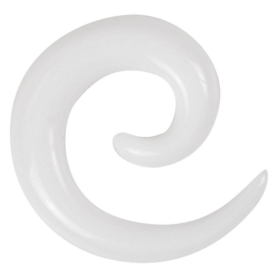White Acrylic Spiral