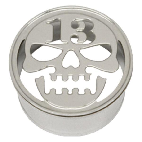 Steel Basicline® Impression Eyelet Skull Thirteen