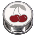 Steel Basicline® Impression Cannister Cherry