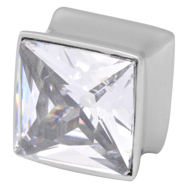Steel Basicline® Jewelled Square Plug
