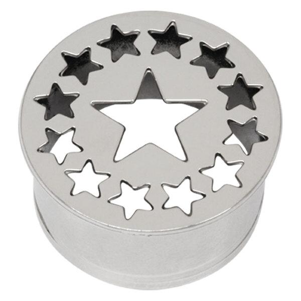 Steel Basicline® Impression Eyelet Star and Stars