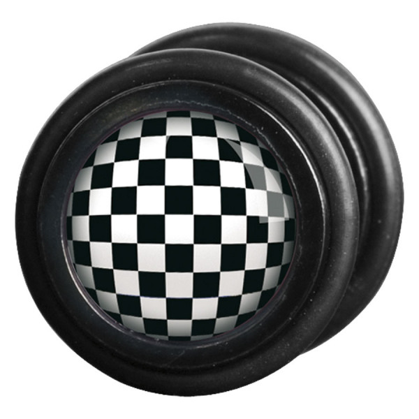 Steel Blackline® - Checkered Black & White
