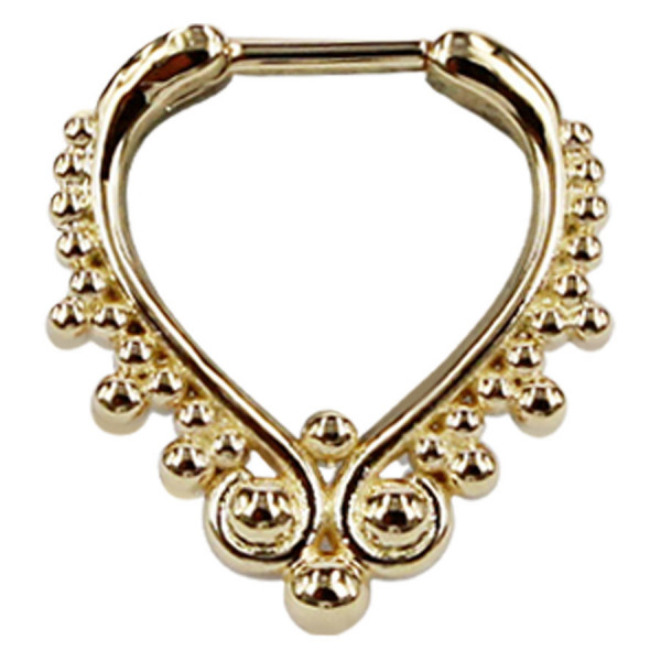 Steel Zirconline® -Wonderland Septum Gold