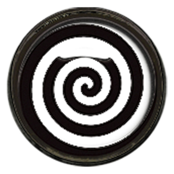 "Titan Blackline® Internally Threaded Ikon Disk ""Black White Spiral"""