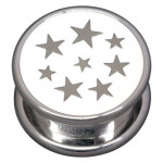 Steel Basicline® Impression Cannister White Stars